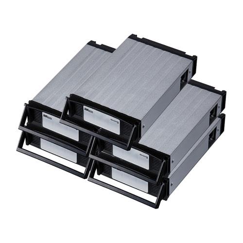 ラトックシステム REX-SATA3 シリーズ用 交換トレイ(5個入り・ブラック) SA3-TR5-BKX