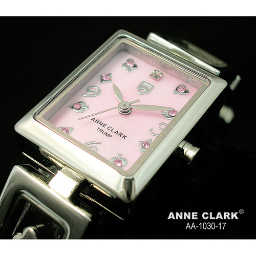 ANNE CLARK ムービングトランプチャームブレス レディースウォッチ AA1030-17