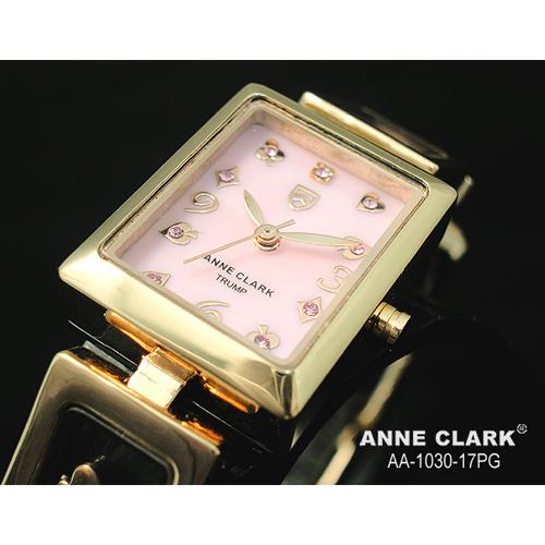 ANNE CLARK ムービングトランプチャームブレス レディースウォッチ AA1030-17PG