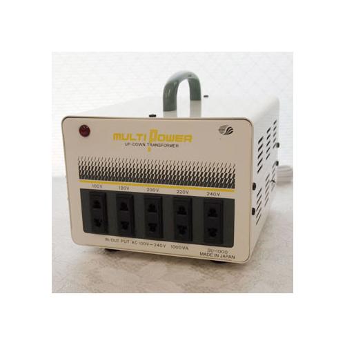 スワロー電機 受注生産のため納期約2週間100~240V対応 マルチ変圧器 100W SU-1000