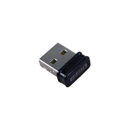 IOデータ WN-G150UMK IEEE802.11n/g/b準拠 150Mbps(規格値)無線LANアダプター(超小型モデル) ブラック