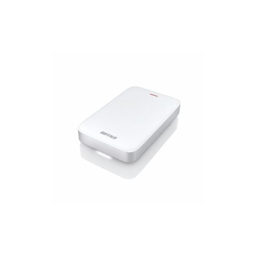BUFFALO バッファロー HD-PA1.0TU3-C ミニステーション Thunderbolt&USB3.1(Gen1)/3.0対応 ポータブルHDD 1TB HD-PA1.0TU3-C