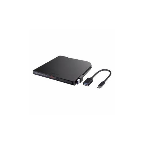 BUFFALO バッファロー BRXL-PT6U3-BKD BDXL対応 価格交渉OK送料無料 USB3.1 未使用品 ポータブルブルーレイドライブ スリムタイプ Gen1 ブラック USB3.0用