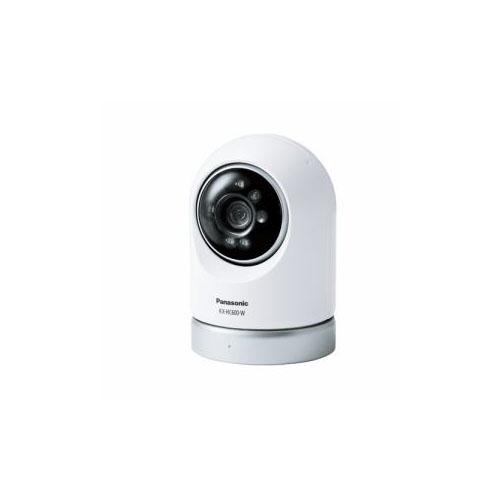 【予約販売9月下旬以降頃入荷予定】Panasonic 屋内スイングカメラ ホワイト KX-HC600-W