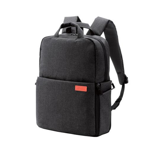 エレコム off toco 2STYLEカメラバックパック 2018モデル Mサイズ ブラック DGB-S041BK