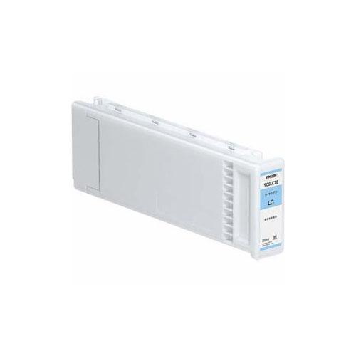 EPSON 純正インクカートリッジ(ライトシアン) SC8LC70