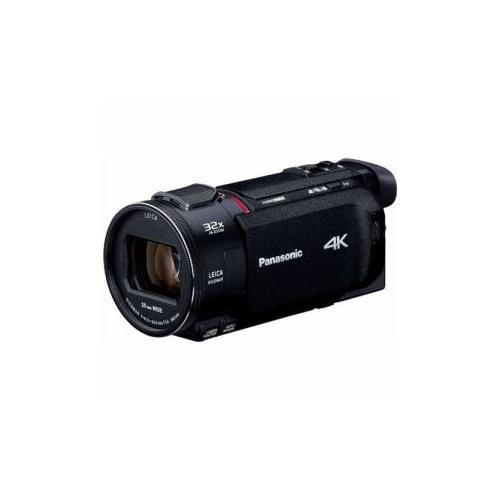 【予約販売10月中旬以降頃入荷予定】Panasonic 64GBメモリー内蔵 デジタル4Kビデオカメラ ブラック HC-WXF1M