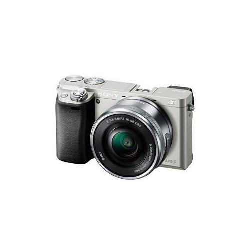 【予約販売9月下旬頃入荷予定】SONY デジタル一眼カメラ α6000 パワーズームレンズキット (シルバー) ILCE-6000L-S