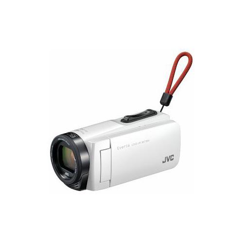 JVC Everio(エブリオ) 32GBメモリー内蔵ハイビジョンメモリービデオカメラ (ホワイト) GZ-F270-W