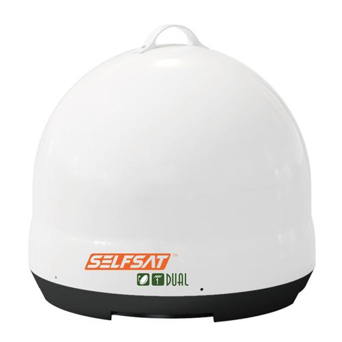 INBYTE BSデジタル、BS/110°CS、地上デジタル対応オールインワンアンテナSELFSAT DUAL J06D