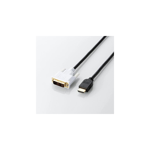 5個セット エレコム HDMI-DVI変換ケーブル DH-HTD15BKX5