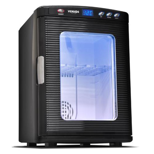 ベルソス 25L冷温庫 ブラック VS-404BK