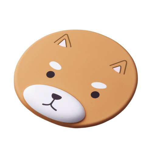 エレコム マウスパッド リストレスト付 アニマル イヌ MP-AN01DOG