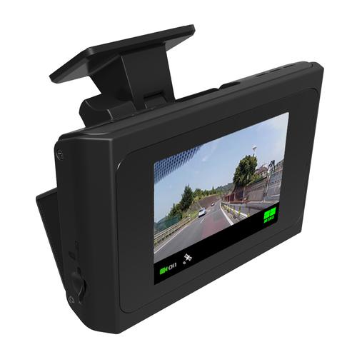 INBYTE タッチパネル搭載コンパクト2カメラ(FHD+FHD)ドライブレコーダー S-crew ISDR-500