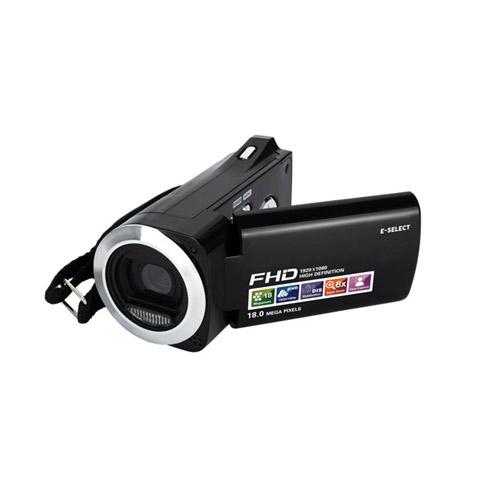 E-SELECT フルハイビジョン 乾電池式 デジタル ビデオカメラ ES-HDV5MBK