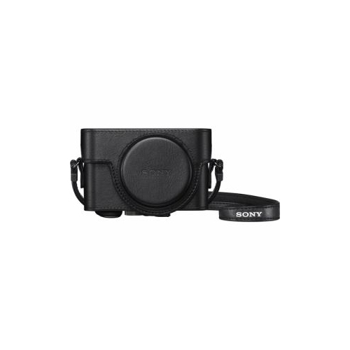 SONY RX100シリーズ用ジャケットケース ブラック LCJ-RXKBC