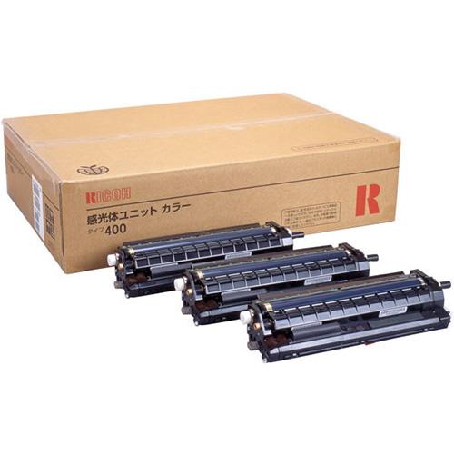 RICOH 感光体ユニット カラー タイプ400 (3本セット) 509446