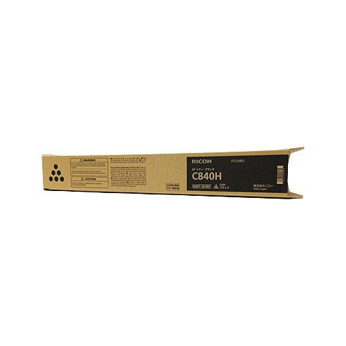 RICOH IPSiO SP メーカー在庫限り品 新品 送料無料 トナー 600637 C840H ブラック