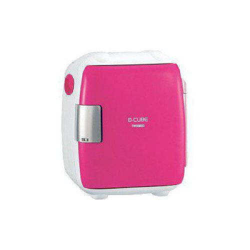 ツインバード 5.5L 2電源式コンパクト電子保冷保温ボックス「D-CUBE S」 ピンク HR-DB06P