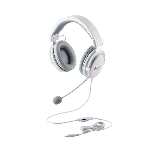 購入 エレコム ゲーミングヘッドセット HS-G40 ホワイト 売買 オーバーヘッド HS-G40WH