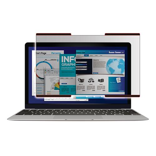 初売り 市場 エレコム 液晶保護フィルター 覗き見防止 ナノサクション EF-PFNS125W 12.5インチワイド