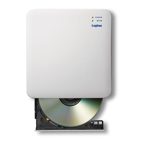 エレコム WiFi対応DVDディスクドライブ 5GHz iOS_Android対応 DVD再生対応 USB3.0 ホワイト LDR-PS5GWU3PWH
