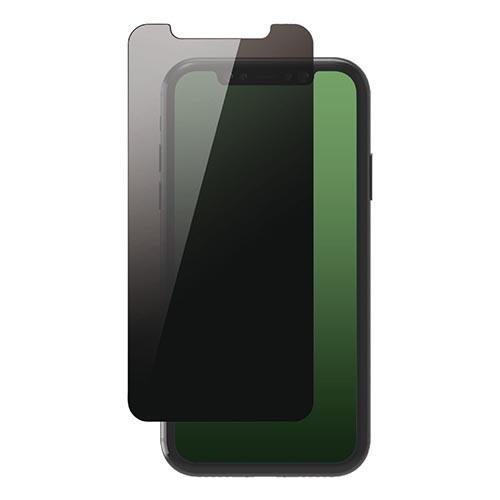エレコム iPhone 11 Pro Max ガラスフィルム 覗き見防止 PM-A19DFLGGPF