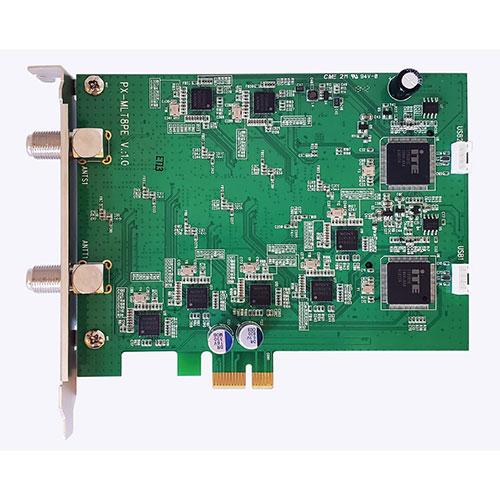 PLEX PCI-Ex+ 内部USB 端子接続 地上デジタル・BS・CS マルチテレビチューナー PX-MLT8PE