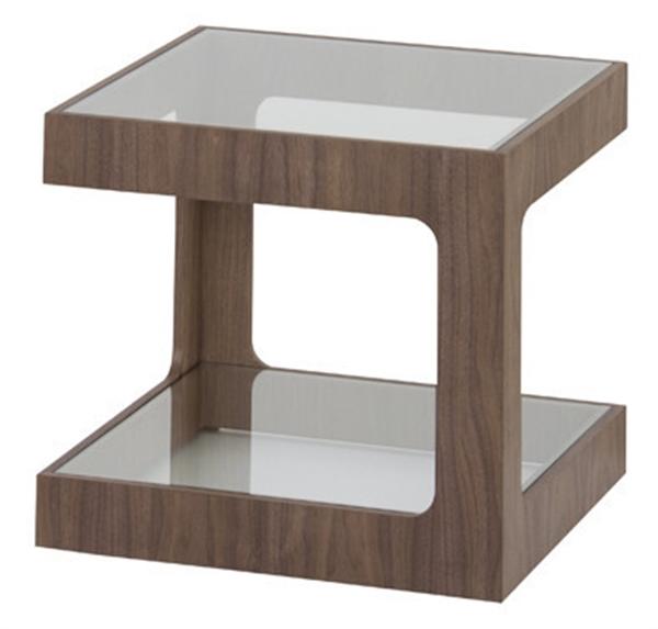 ラウル ガラスサイドテーブル