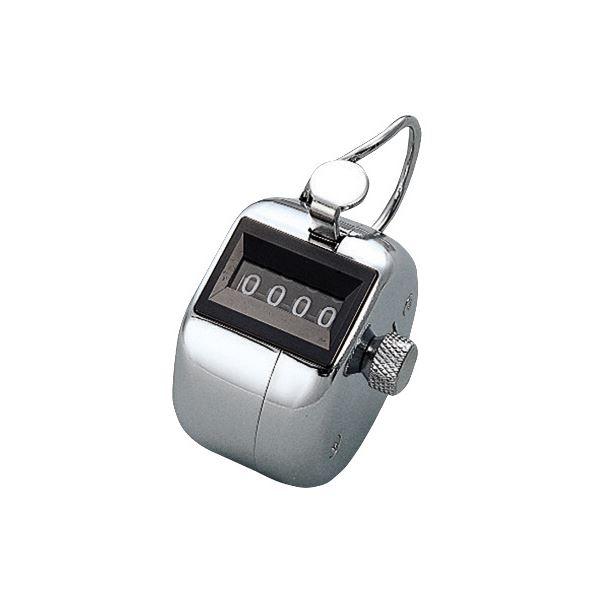 (まとめ) コクヨ 数取器 4桁 手持式 CL-201 1個 【×6セット】