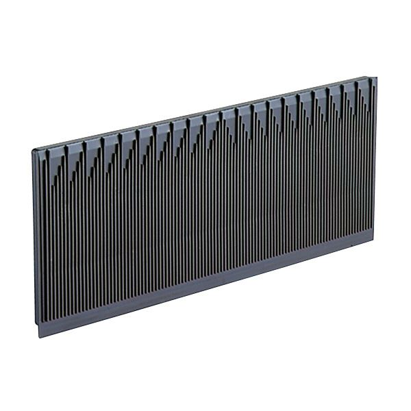 (業務用10個セット)三甲(サンコー) プリント基板コンテナボックス【専用仕切】 単品 導電性PP製 B-ED76M ブラック(黒) 【代引不可】