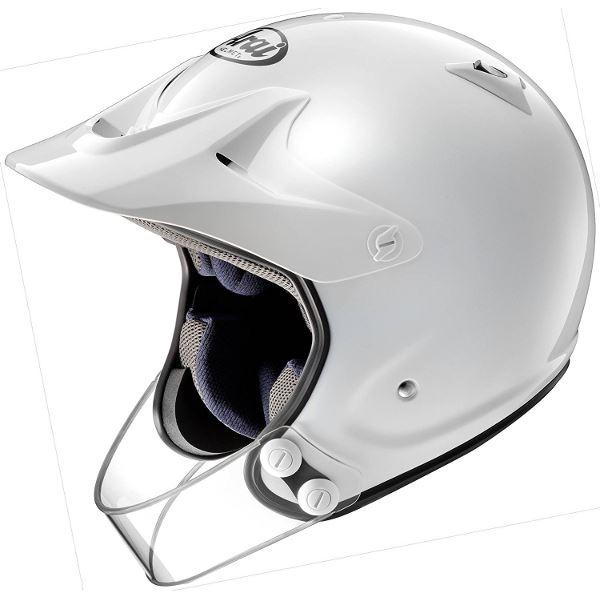 アライ(ARAI) オフロード HYPER-T PRO ホワイト 59-60(Lサイズ)