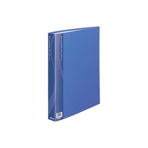 (業務用セット) クリアバインダー A4 25P CBM1035B-N ブルー【×5セット】