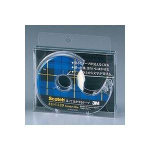 (業務用100セット) スリーエム 3M メンディングテープ 811-1-12D 12mm×20m