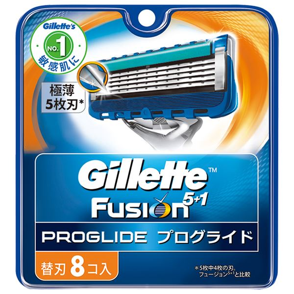 (まとめ)ジレット プログライドマニュアル替刃8B 【×3点セット】