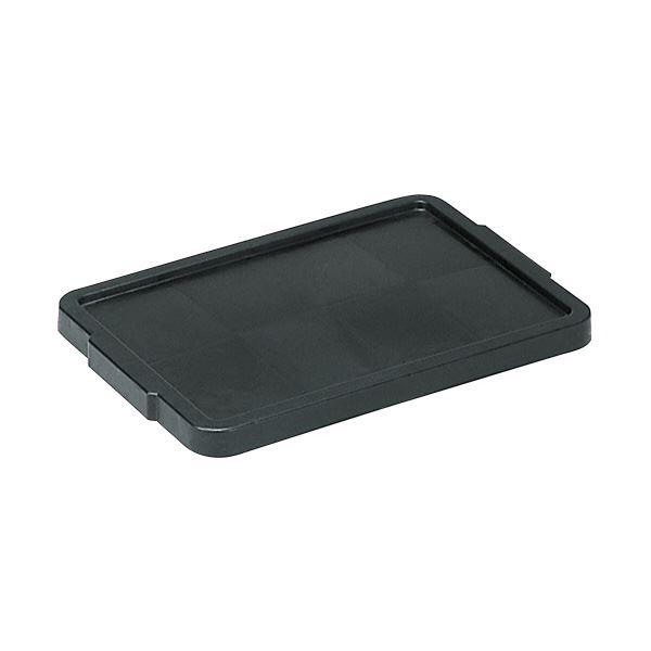 (業務用10個セット)三甲(サンコー) サンボックス蓋 単品 導電 24 ブラック(黒) 【代引不可】