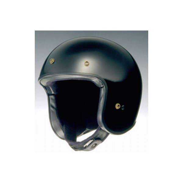 ジェットヘルメット FREEDOM ブラック S 【バイク用品】