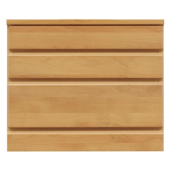 3段チェスト/ローチェスト 【幅60cm】 木製(天然木) 日本製 ナチュラル 【完成品】【代引不可】