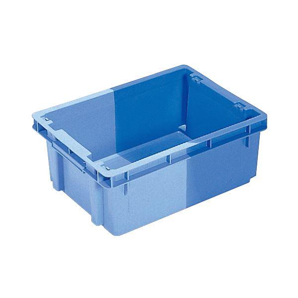 (業務用10個セット)三甲(サンコー) SNコンテナ/2色コンテナボックス 【Bタイプ】 #13 ブルー×ライトブルー 【代引不可】