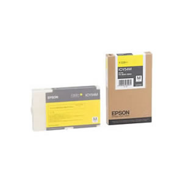 (業務用3セット) 【純正品】 EPSON エプソン インクカートリッジ/トナーカートリッジ 【ICY54M Y イエロー】