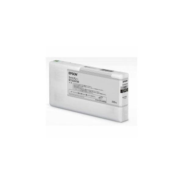 EPSON インクカートリッジ ライトグレー 200ml SC12LGY20
