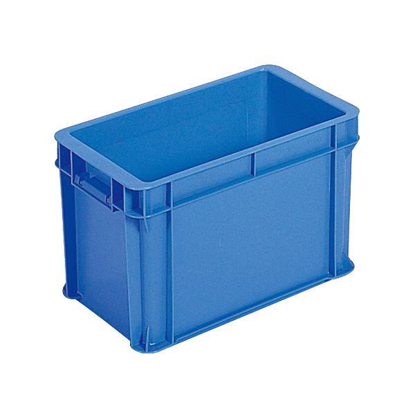 (業務用10個セット)三甲(サンコー) ベタ目コンテナボックス/サンボックス 10B(PP)ブルー(青) 【代引不可】