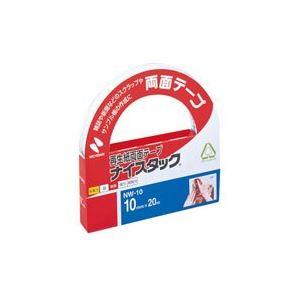 (業務用100セット) ニチバン 両面テープ ナイスタック 【幅10mm×長さ20m】 NW-10