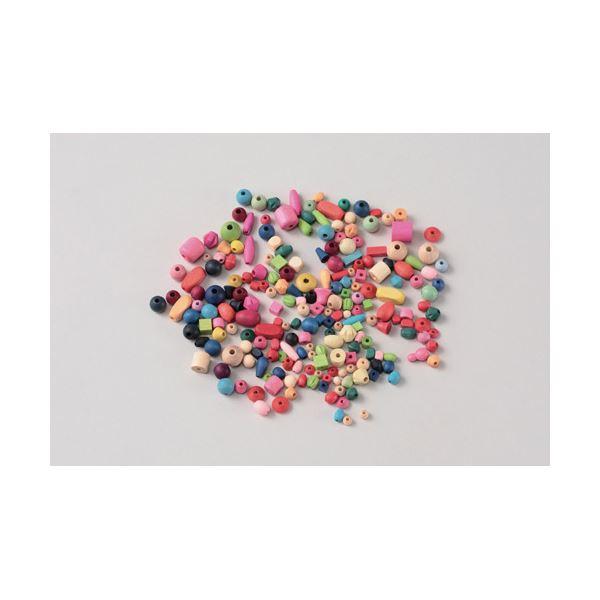 (業務用20セット) MIYUKI ウッドビーズ ミックス 19-7505