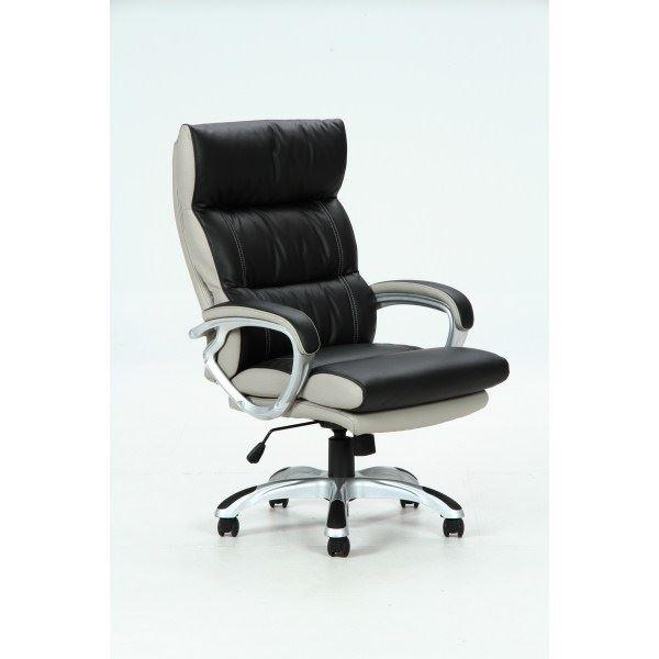 コイルスプリングデスクチェア(椅子) 昇降機能付き 【マリーノ】 肘掛け/キャスター付き BK ブラック(黒)【組立品】【代引不可】