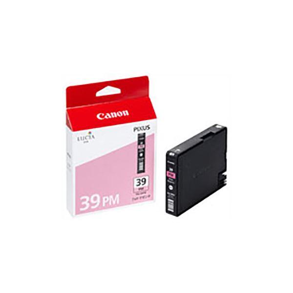 (業務用5セット) 【純正品】 Canon キャノン インクカートリッジ/トナーカートリッジ 【4865B001 PGI-39PM フォトマゼンタ】