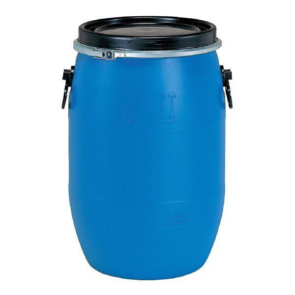 三甲(サンコー) 液体輸送用プラスチックドラム 【オープンタイプ】 PDO 60L-1 UN認定 ブルー(青)【代引不可】