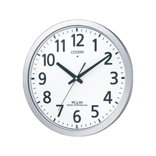 リズム時計 シチズン電波掛時計 8MY462-019