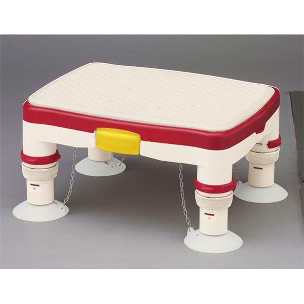 アロン化成 浴槽台 安寿高さ調節付浴槽台R (1)ミニ レッド 536-484