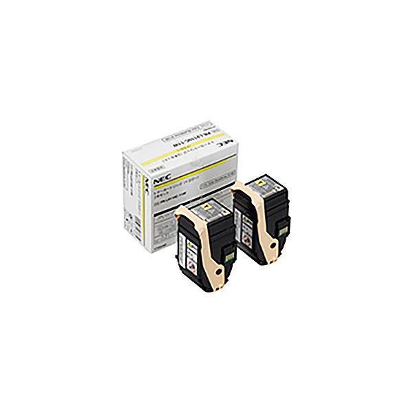 (業務用3セット) 【純正品】 NEC エヌイーシー トナーカートリッジ 【PR-L9110C-11W YX2 イエロー】 2本セット